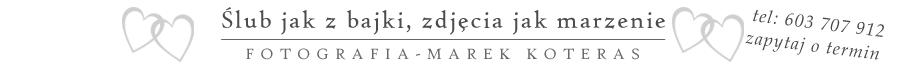 Fotografia Ślubna – Marek Koteras logo